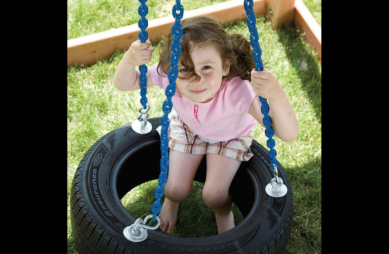 All our swing chains are plastisol coated for pinch free grip, fade protection, & rust resistance.