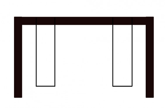 2 Position Swing Beam