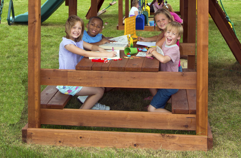 Fits most Kid's Creations play sets, made from 100% Redwood which is splinter, rot, decay & insect resistant