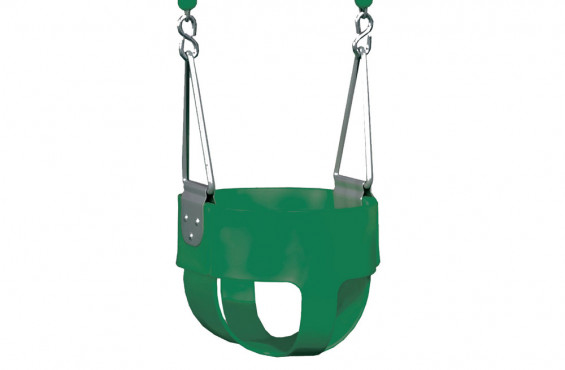 It also meets and/or exceeds ATSM safety standards, making this swing a safe play accessory so your toddler can join the fun.