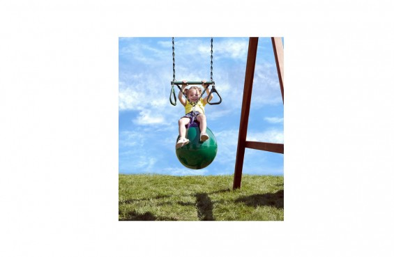 Our buoy ball swing combines two play accessories for a better swing experience.
