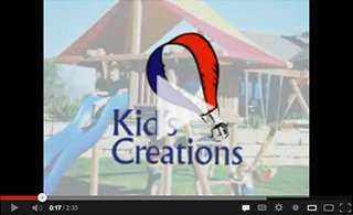 Wooden Swing Sets by Kids Creations